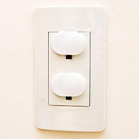 10 nắp bịt ổ điện an toàn cho bé khi người lớn không có ở nhà giúp đỡ xảy ra những tình huống xấu