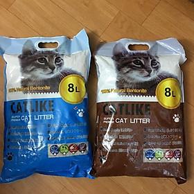 Cát vệ sinh cho mèo - Catlike 8L (Giao mùi ngẫu nhiên)