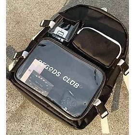 Balo nam nữ Unisex thời trang Regods club thời trang đi học cặp laptop - MunNiNi