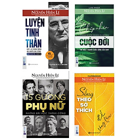 combo Bộ sách nhất định phải đọc 1 lần trong đời: Là chính mình – An nhiên mà sống(tặng bookmark kim loại mạ vàng)