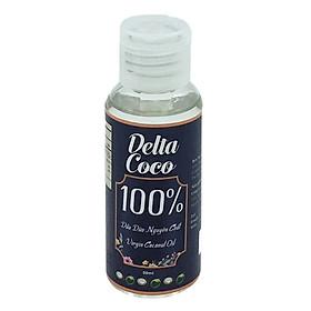 Dầu dừa nguyên chất Delta Coco 50ml