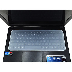 Miếng Phủ Bàn Phím Laptop 15 - 17 inch Silicon Chống Nước, Chống Bụi Bẩn