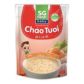 Cháo Tươi Baby Gà Cà Rốt SG Food (240g)
