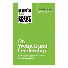 Harvard Business Review: 10 Must Read On Women And Leadrship