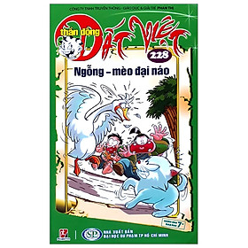 [Download sách] Thần Đồng Đất Việt -Tập 228: Ngỗng - Mèo Đại Náo