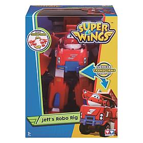 Robot Biến Hình Kết Hợp Xe Cứu Hộ Nhỏ - Jett Tia Chớp Super Wings YW720311