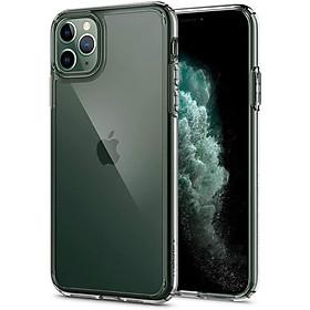 Ốp Lưng Kính Cường Lực Trong Suốt, Viền Máy Dẻo Dành Cho Iphone 11/ 11 Pro/ 11 Pro Max/ SE 2020/ 12 Mini/ 12 / 12 Pro / 12 Pro Max Hàng Chính Hãng Helios