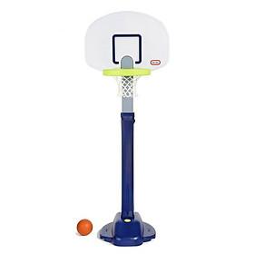 Bộ bóng rổ 180cm cho bé xanh navy