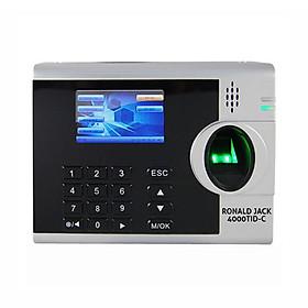 Máy chấm công vân tay và thẻ cảm ứng Ronald Jack 4000 TID-C