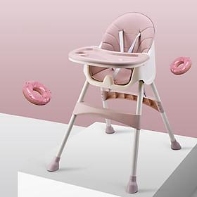 Ghế tập ăn dặm ăn bột đa năng cao cấp thiết kế Hàn Quốc 3 nấc điều chỉnh độ cao