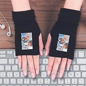 Găng tay len hở ngón IN HÌNH Kimi No Nawa - Your Name anime