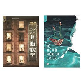 Combo 2 Cuốn Truyện Trinh Thám Hay Kinh Điển: Khách Sạn Ba Đóa Hồng + Một Thế Giới Không Có Đàn Bà / Những Cuốn Truyện Trinh Thám Bán Chạy Nhất - Tặng Kèm Bookmark Happy Life