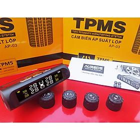 Cảm biến áp suất lốp (TPMS) van ngoài - cắm tẩu cho ô tô