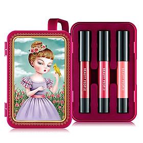 Bộ son môi trang điểm tông màu nữ tính phiên bản 2 - BEAUTY PEOPLE Honey Girl Dollish Lip Special Makeup Set Season 2