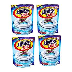 Bộ 4 gói bột tẩy lồng máy giặt Sandokkaebi Korea 450g
