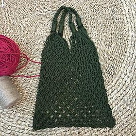Túi lưới đi biển - Túi thời trang cho các bạn trẻ