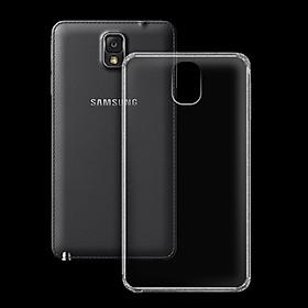 Ốp lưng cho Samsung Galaxy Note 3 - 01059 - Ốp dẻo trong - Hàng Chính Hãng