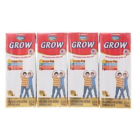 Lốc 4 Hộp Sữa Bột Pha Sẵn Vinamilk Dielac Grow 180ml
