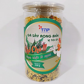 Gà sấy rong biển vị tỏi ớt Chà Chà TNP hũ 250g
