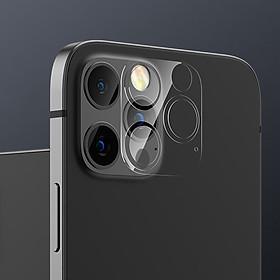 Miếng dán kính cường lực Leeu Design cho Camera iPhone 12 Mini / 12 / 12 Pro / 12 Pro Max - Hàng Nhập Khẩu