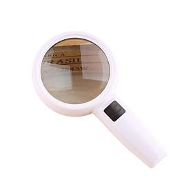 Kính lúp cầm tay có đèn zoom 3X