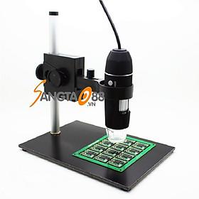 Kính hiển vi điện tử để bàn soi mẫu vật, lắp ráp mạch điện tử thông minh có đèn X4S-1000 (Tặng miếng thép đa năng 11in1)