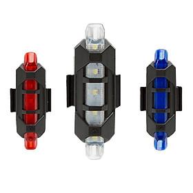 Đèn Hậu LED Cảnh Báo Gắn Phía Sau Xe Đạp Giúp Đạp Xe An Toàn Ban Đêm 4 chế độ sáng màu ngẫu nhiên- VINETTEAM hàng chính hãng