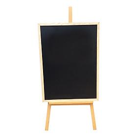Combo Bảng Menu (60 x 80 Cm) + Giá Đỡ Bảng (135 x 60 cm) - Tặng Kèm Bút Dạ Quang, Hộp Phấn