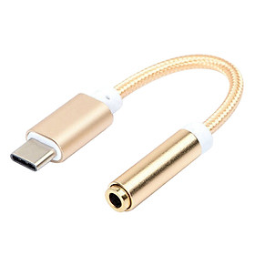 Bộ Chuyển Đổi Kết Nối Âm Thanh USB-C Cho LeEco -Vàng