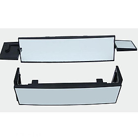 Car Panoramic Tri-folded Rear View Mirror Universal Wide Angle Rear View Mirror