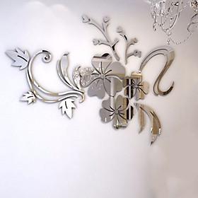 Miếng Dán Tường 3D Trang Trí Phòng Hình Hoa