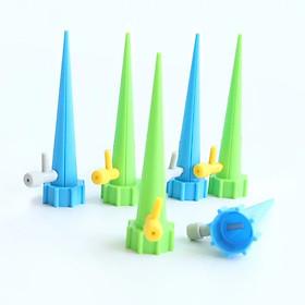 Bộ 10 đầu tưới nắp chai nhỏ giọt tự động thông minh có điều chỉnh ( tưới hoa, cây cảnh )