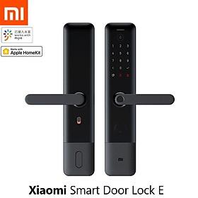 Xiaomi Mijia Smart Door Lock E Mật khẩu vân tay Bluetooth Mở khóa Phát hiện Báo động Công việc Mi Home App
