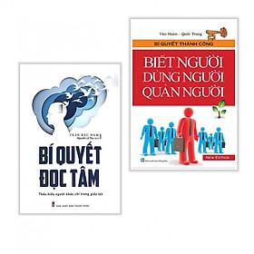 Combo Bí Quyết Đọc Tâm + Biết Người Dùng Người Quản Người (Tặng Bookmark Phương Đông Books)