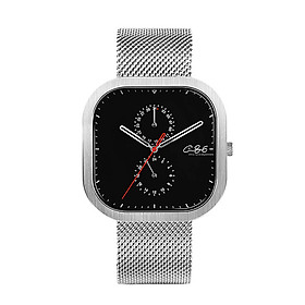 Xiaomi Youpin C+86 Watch All Stainless Steel Band Watch 3ATM Water Resistant With 24H Dial Calender Dial Business Quartz