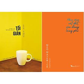 Combo 2 Cuốn Sách: Tối Giản: Sở Hữu Ít Đi, Hạnh  Phúc Nhiều Hơn + Hậu Vận Rất Đắt, Xin Đừng Lãng Phí