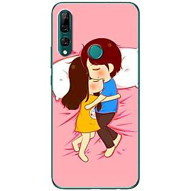 Ốp lưng dành cho Huawei Y9 Prime (2019) mẫu Ôm nhau ngủ