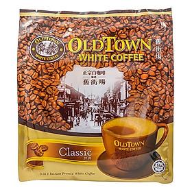 Cà Phê OLD TOWN White Coffee Classic 570g (15 gói x 38g)
