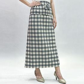 Váy Chống Nắng loại quay tròn vải Thun bố loại đẹp mềm mại - Có Túi phía trước - Cố định bằng băng dính bản to 5cm