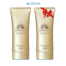 Kem chống nắng dạng gel bảo vệ hoàn hảo Anessa Perfect UV Sunscreen Skincare Gel 90g tặng Kem chống nắng dạng gel 90g