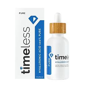 Serum Cấp Nước Timeless Hyaluronic Acid 100% Pure 60ml