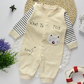 Áo liền quần cho bé ,chất liệu cotton thoáng mát 8000118
