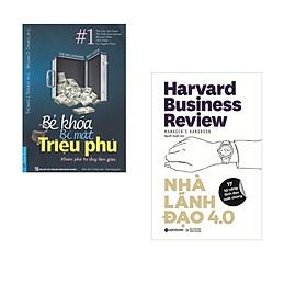Combo 2 cuốn sách: Bẻ Khóa Bí Mật Triệu Phú + Nhà lãnh đạo 4.0