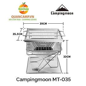Bếp nướng dã ngoại xếp gọn Campingmoon MT-035