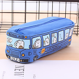 Túi Đựng Bút Chì Sáng Tạo Hình Xe Buýt. Đồ Dùng Học Tập Cho Trẻ Mẫu Giáo Và Tiểu Học STPC35CNN166