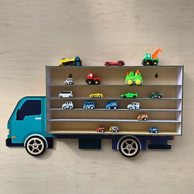 Giá để xe ô tô đồ chơi bằng gỗ
