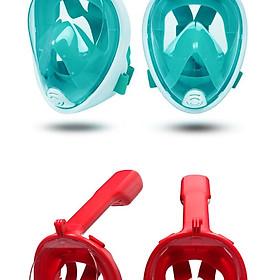 Mặt nạ bơi lặn - mặt nạ lặn biển du lịch - mặt nạ bơi có ống thở - Mặt nạ lặn có thiết kế gắn camera dưới nước
