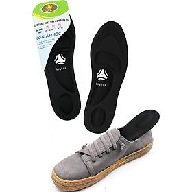 01 cặp lót giày thể thao 4D có gờ chống sốc giảm mỏi gang bàn chân - buybox - BBPK36