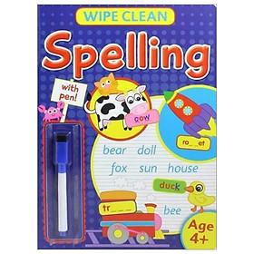 Wipe Clean: Spelling With Pen