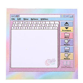 Memo Pad Notes Lovely Computer Paper Supplies Gift